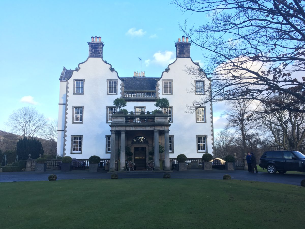 With Only One Night We Stayed At The Luxurious Prestonfield House In Edinburgh And Attended