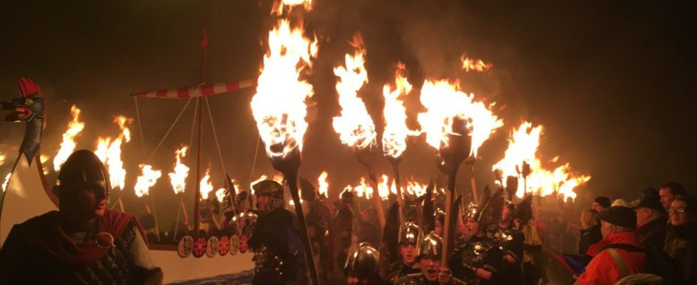 I recently experienced the sensational Up Helly Aa in the Shetland Islands, Scotland. Influenced by the Vikings, it dates back to the late 1800s. What is Up Helly Aa? How do you experience this wild night? ... As time inched closer to 7:30, I could literally feel the anticipation building In the darkness ahead of me...